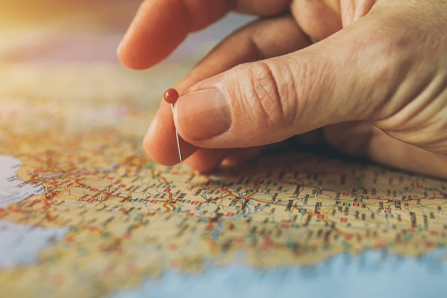 Travel Map and Pin