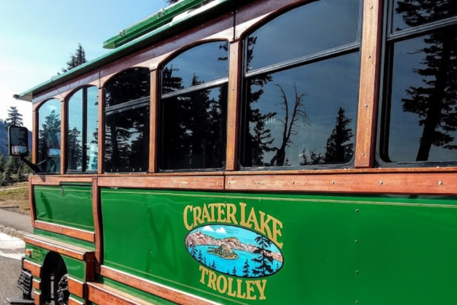 Crater Lake Trolly
