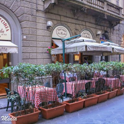 Street Cafe in Florence