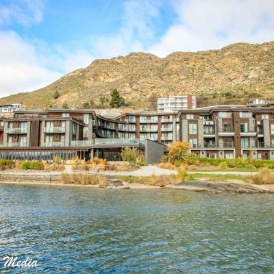 The Hilton in Queenstown