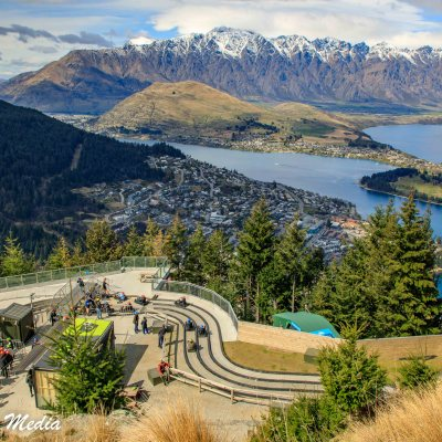 The Luge Track in Queenstown