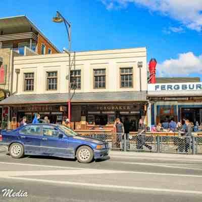 The Infamous Fergburger in Queenstown