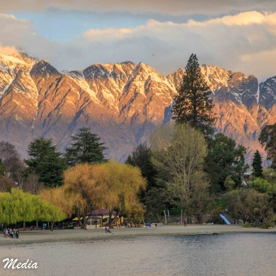 Queenstown at Sunset