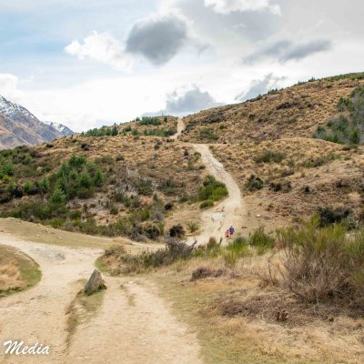 Hiking Queenstown Hill