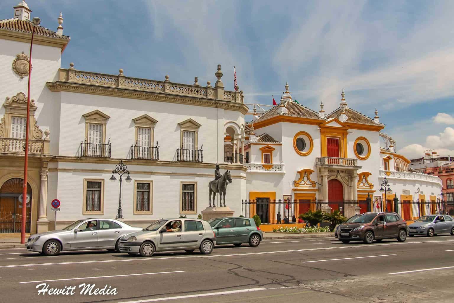 Plaza de toros de la Real Maestranza de Caballería de Sevilla
