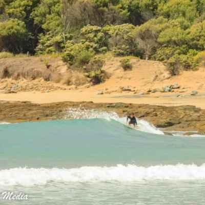 Surfer in Torquay