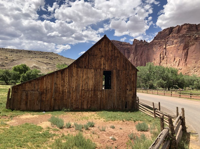 Travel Journal (7/14/2020):  Exploring Capital Reef National Park