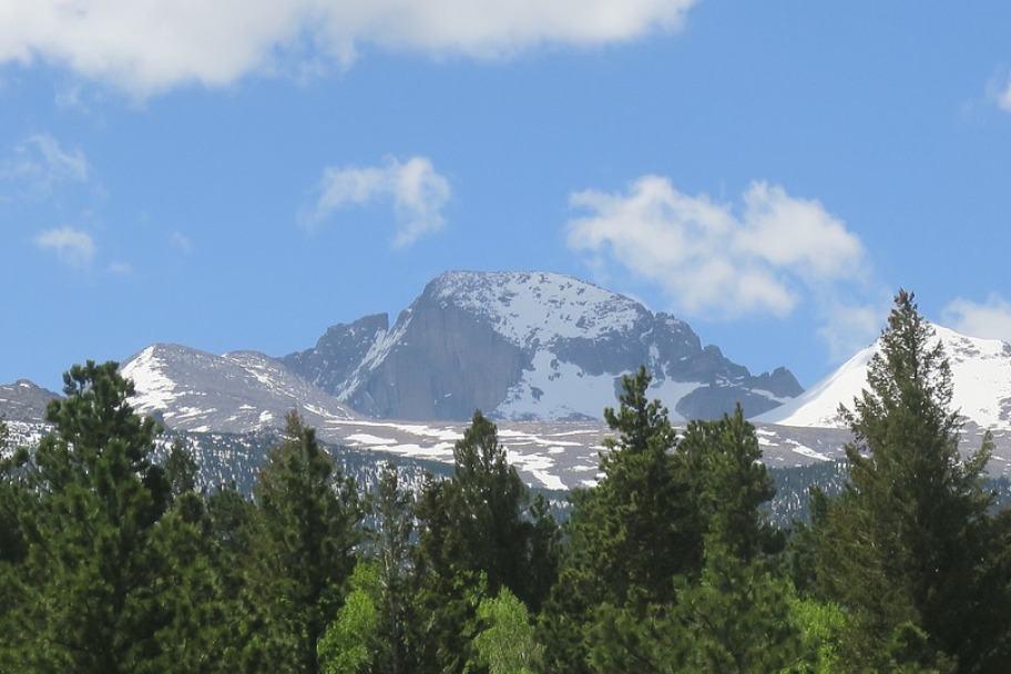 Rocky Mountain National Park Longs Peak