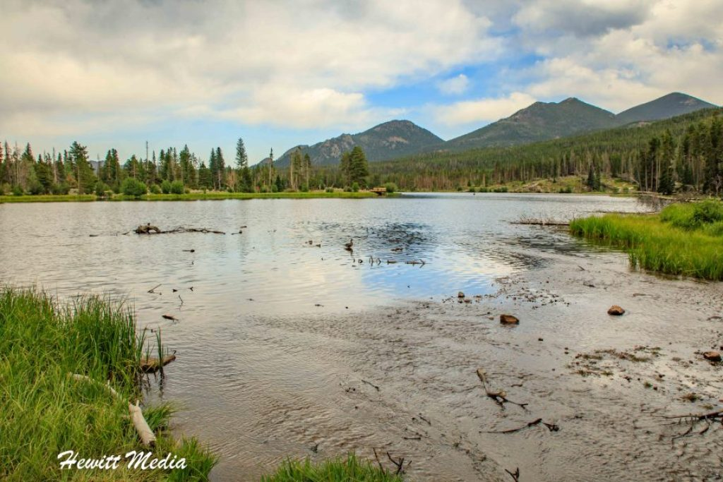 Rocky Mountain National Park Sprague Lake