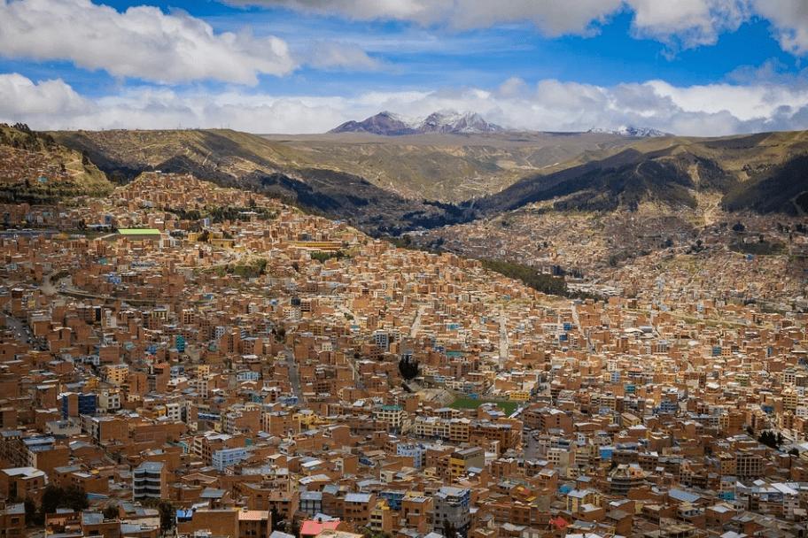 Top 2021 Travel Destinations - La Paz, Bolivia