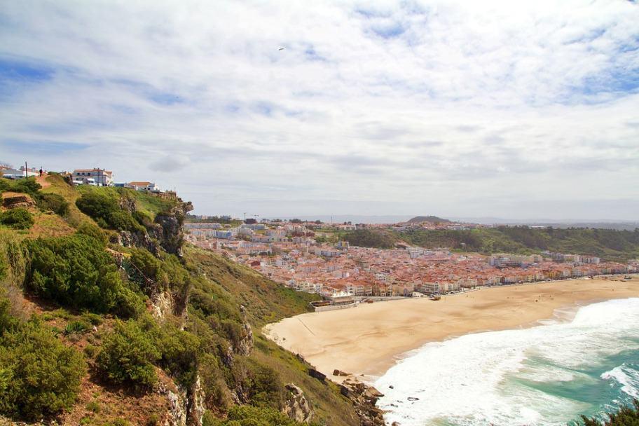 Top 2021 Travel Destinations - Nazaré, Portugal