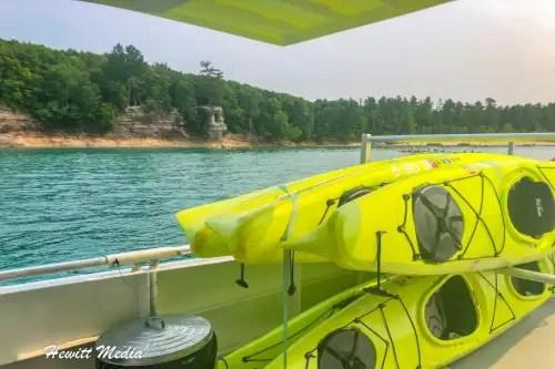 Pictured Rocks Kayak-