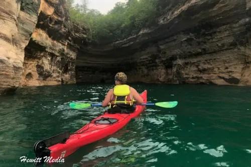 Pictured Rocks Kayak-2