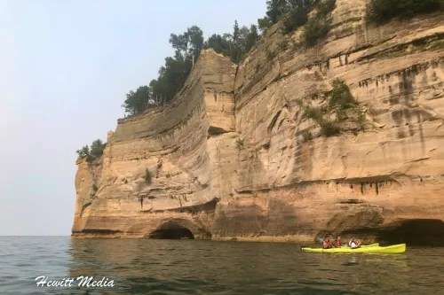 Pictured Rocks Kayak-8206