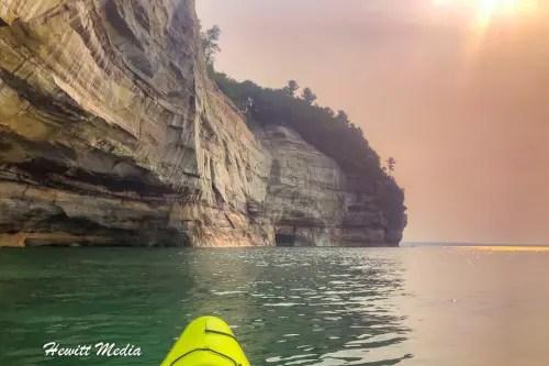 Pictured Rocks Kayak-8226
