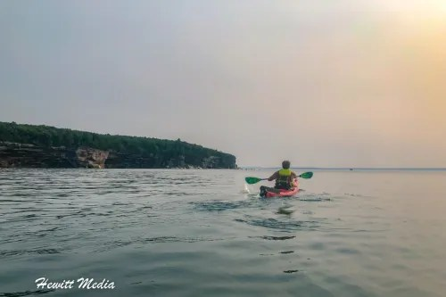 Pictured Rocks Kayak-8236