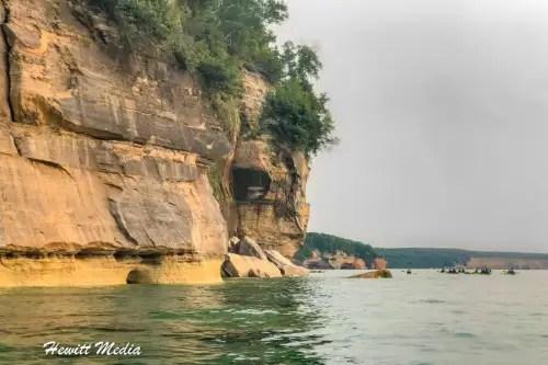 Pictured Rocks Kayak-8247