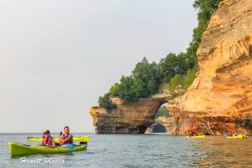 Pictured Rocks Kayak-8278