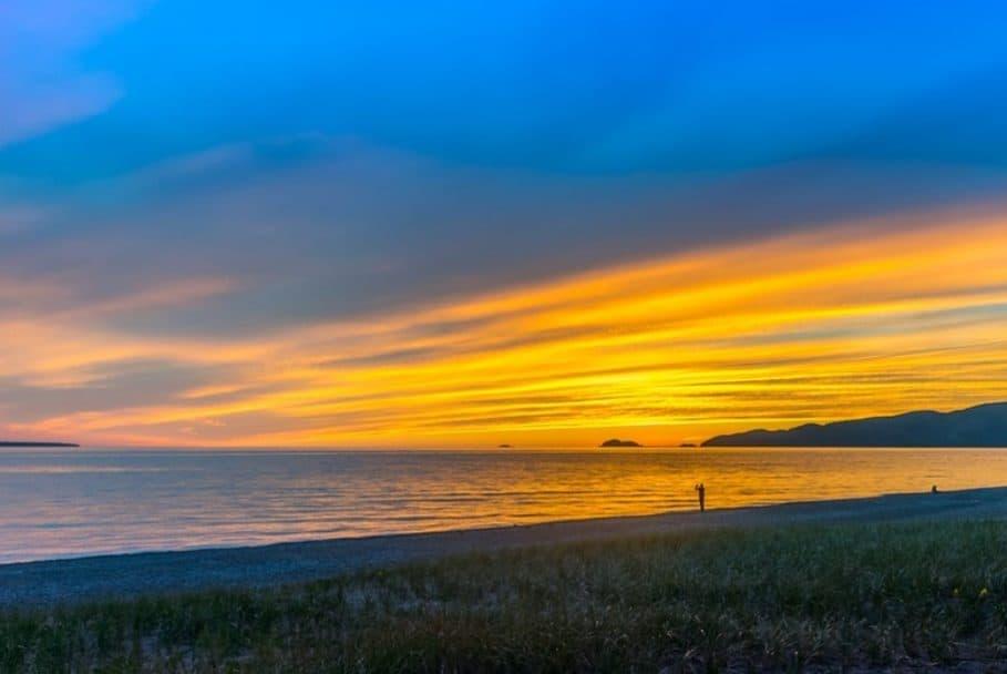 Great Lakes Road Trip - Lake Superior Sunset