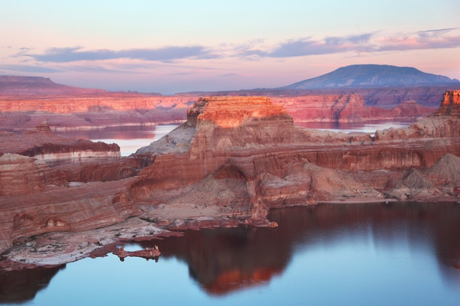 Southern Utah Attractions - Alstrom Point Glen Canyon