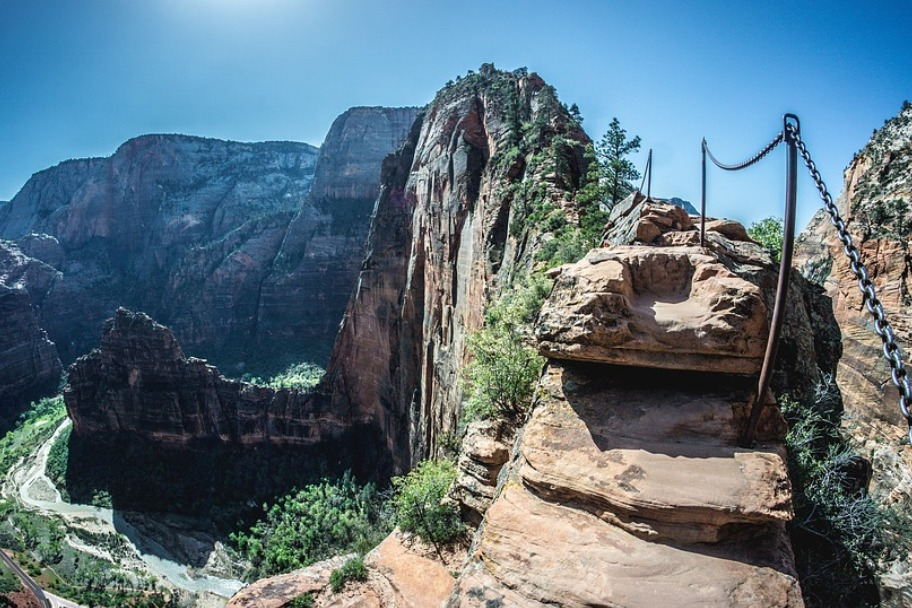 Southern Utah Attractions - Angel's Landing