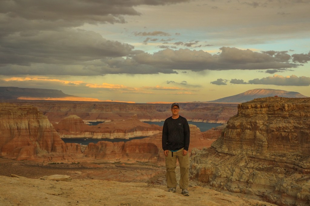 Conquering Alstrom Point in Glen Canyon