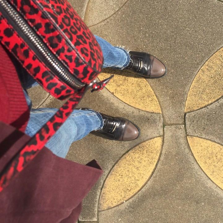 bilbao jimmy choo boots saint laurent bag streetstyle