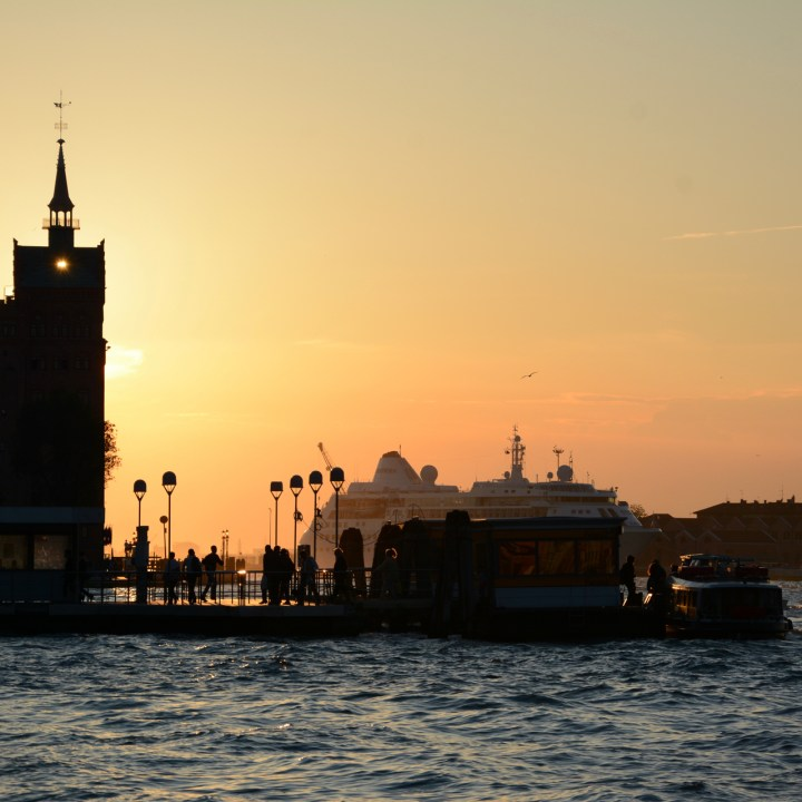 Sunset guidecca venice