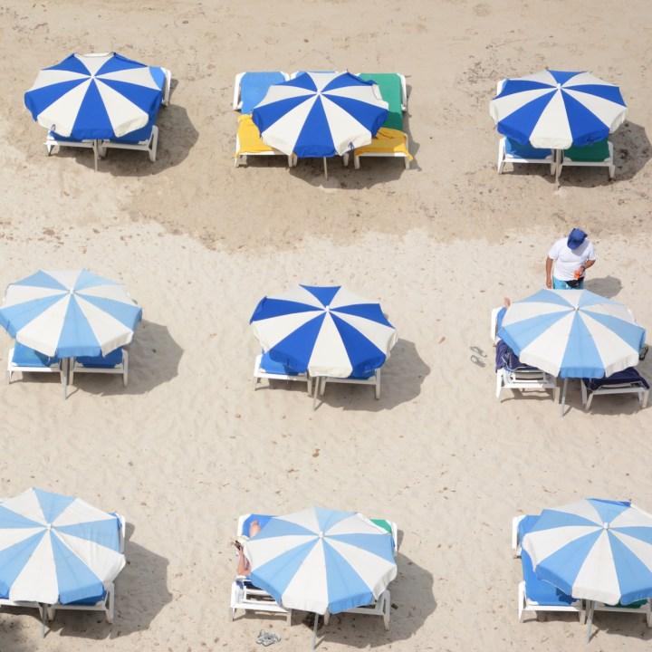 parasol cala galdana hotel melia beach