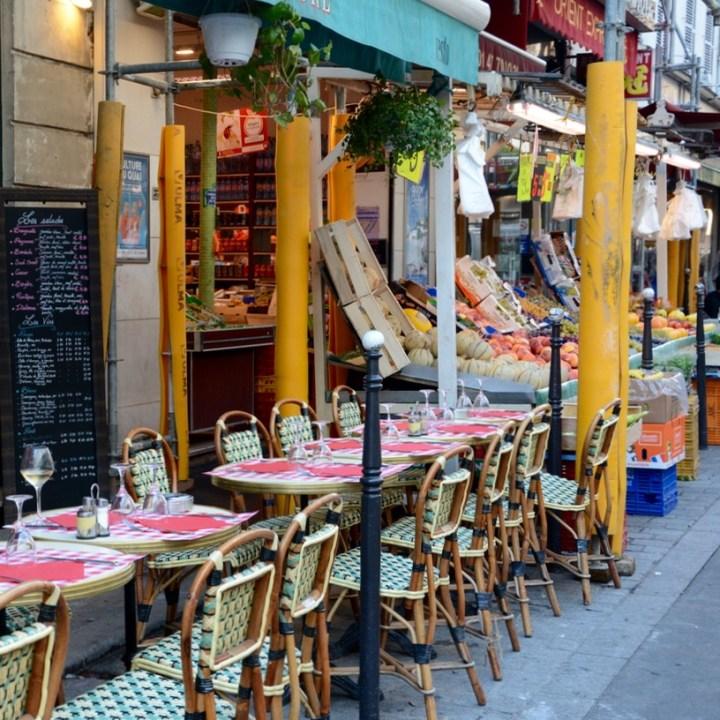 Paris France restaurant montmatre