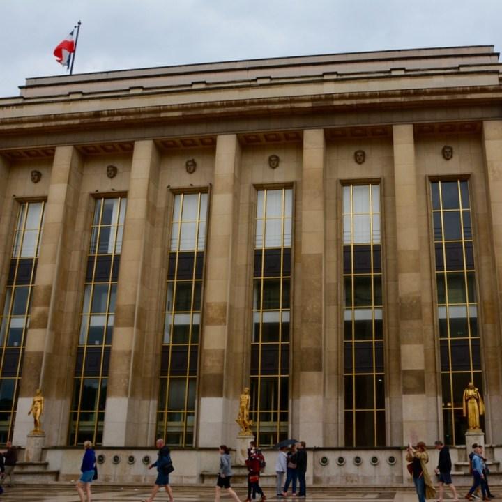 paris trocadero architecture