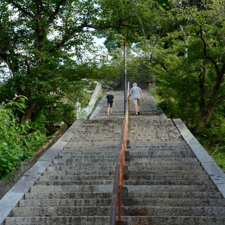 stairs temple Kurashiki
