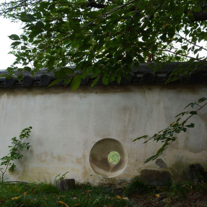 Okayama castle wall