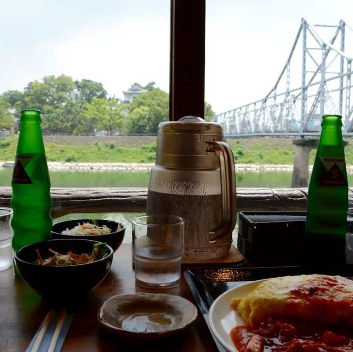 Okayama Hokusaien restaurant korakuen garden