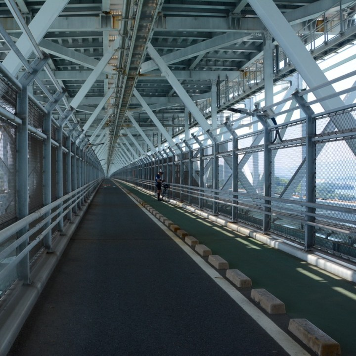 onomichi japan shimanai kaido mukoujima innoshima hashi bridge cycle level