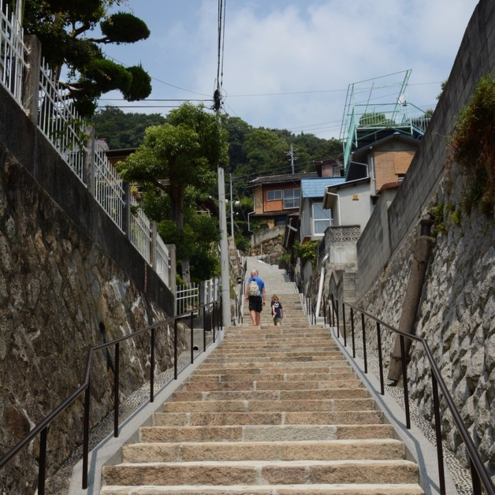 Onomichi temple walk steps