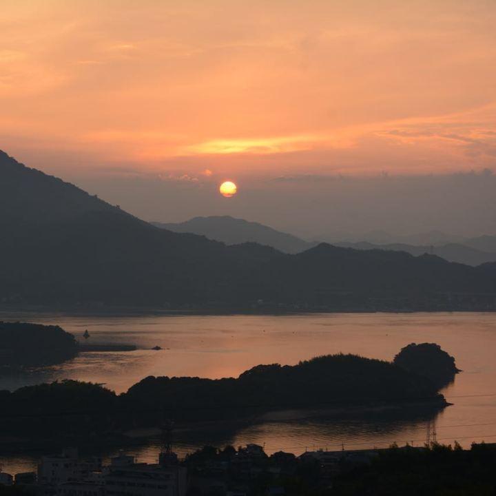 innoshima hotel shimanami kaido sunset