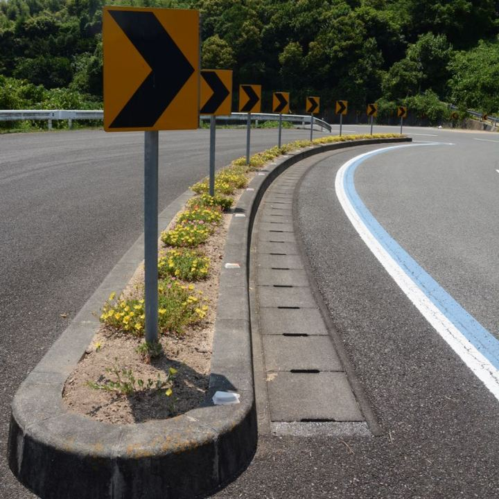 shimanami kaido cycling seto inland sea bend