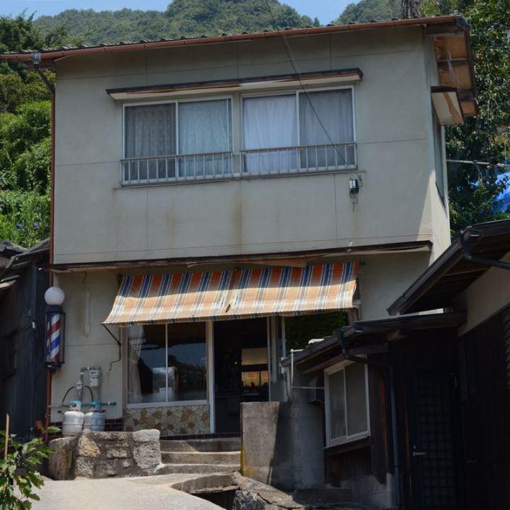 shimanami kaido cycling seto inland sea oshima hair dresser barber