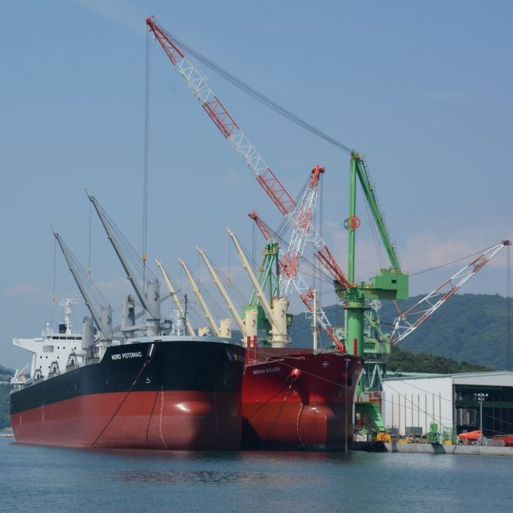 shimanami kaido cycling seto inland sea shipyard