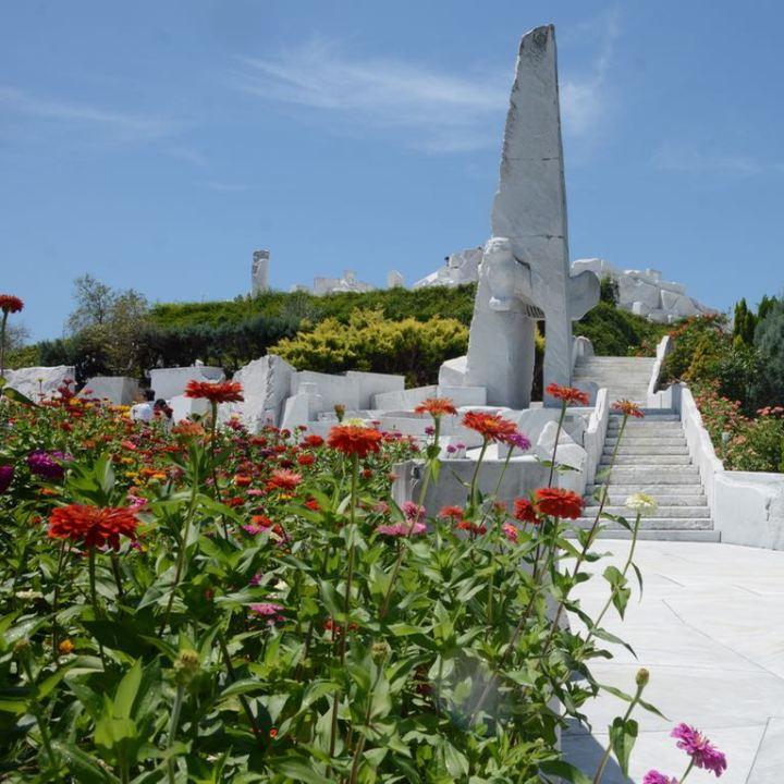ikuchijima setoda kosanji temple shrine hill of hope marble hill