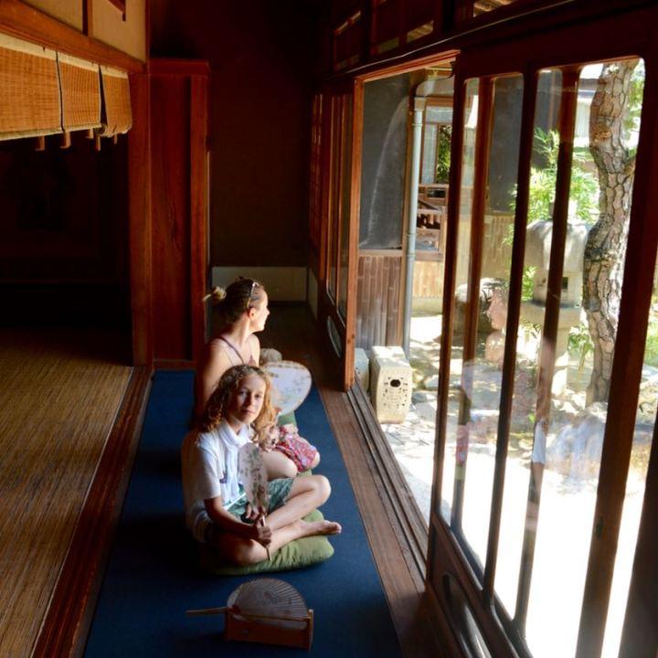 ikuchijima setoda kosanji temple shrine chousaikaku villa engawa