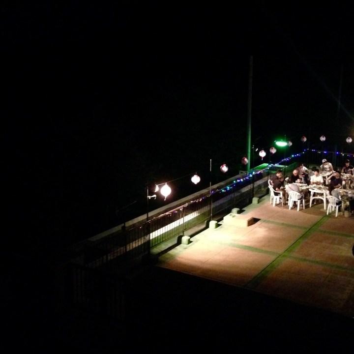 innoshima hotel terrace party