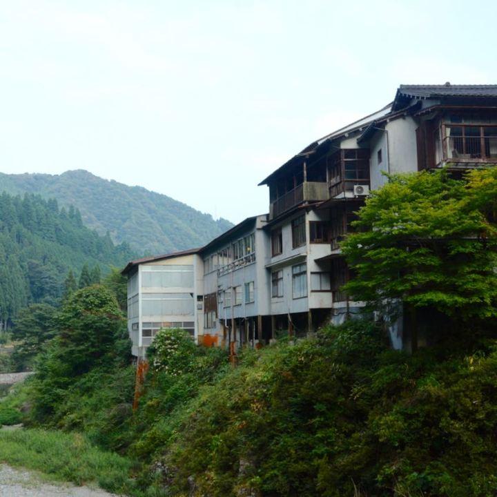 Sandankyo gorge hiroshima japan ryokan