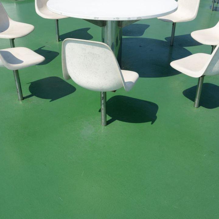 naoshima ferry chair table design