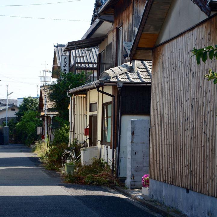 naoshima japan miyanoura street architecture
