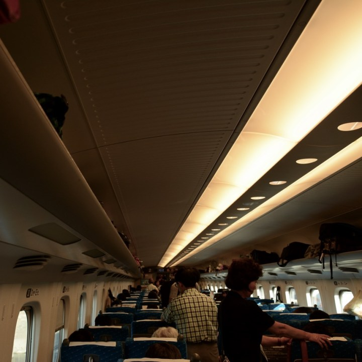 shinkansen unreserved car overbooked busy