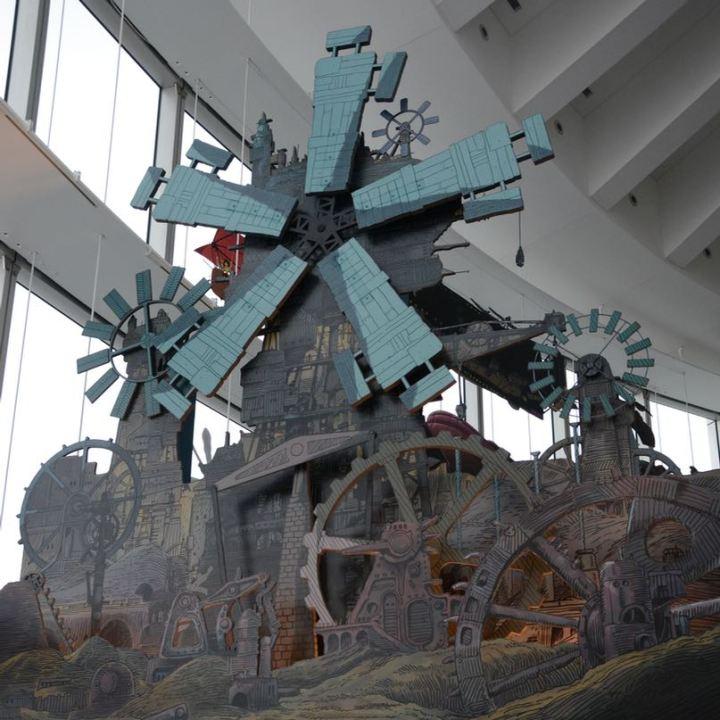 roppongi tokyo mori art museum ghibli exhibition wind of earthsea