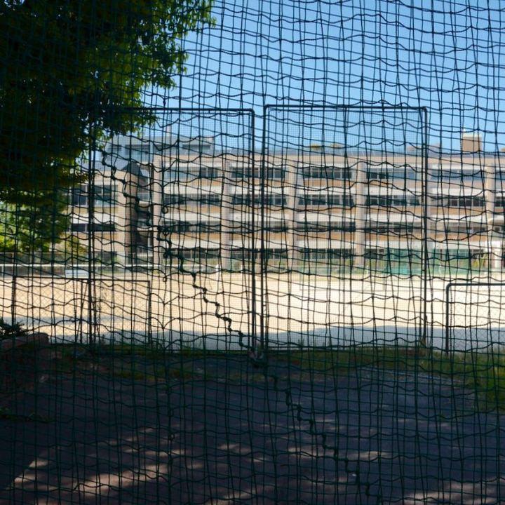 Hiroshima school yard sports field
