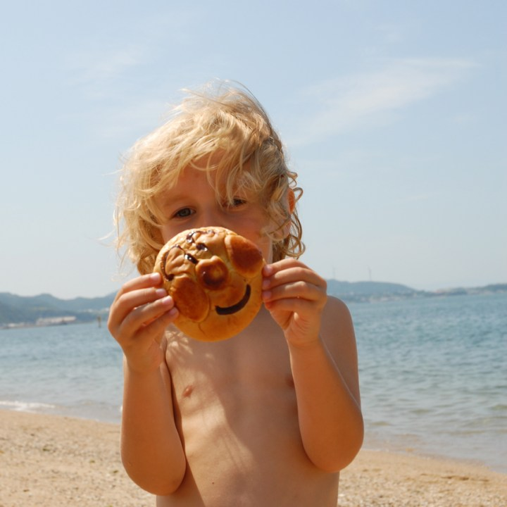travel japan with kids anpanman bread